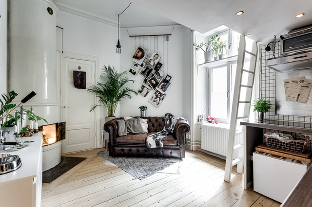 Dù sở hữu diện tích hạn chế, lại không được vuông vắn nhưng căn nhà đã khiến người xem phải trầm trồ bởi không gian rộng thoáng và vô cùng sang trọng.