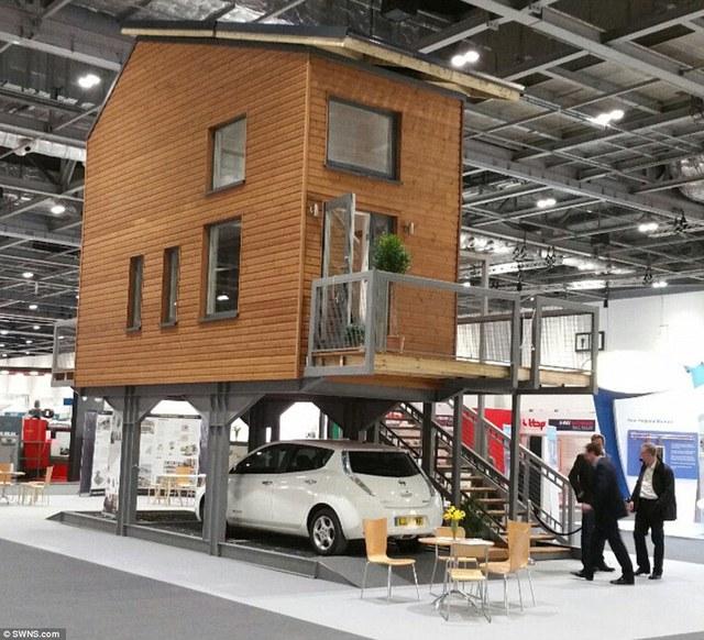 Mô hình nhà ở ZEDpod là một ý tưởng xây dựng các công trình nhà ở giá rẻ bên trên các bãi đỗ xe.