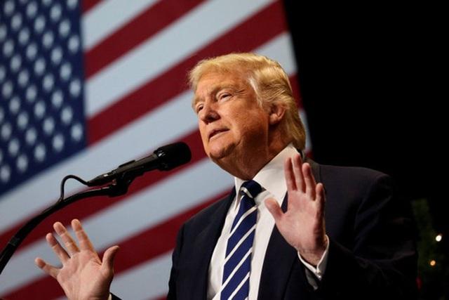 Tổng thống Mỹ đắc cử Donald Trump. Ảnh: REUTERS