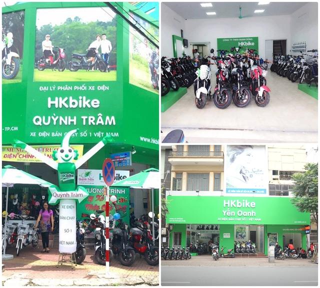 HKbike đang rất thành công với 230 showroom trên toàn quốc.
