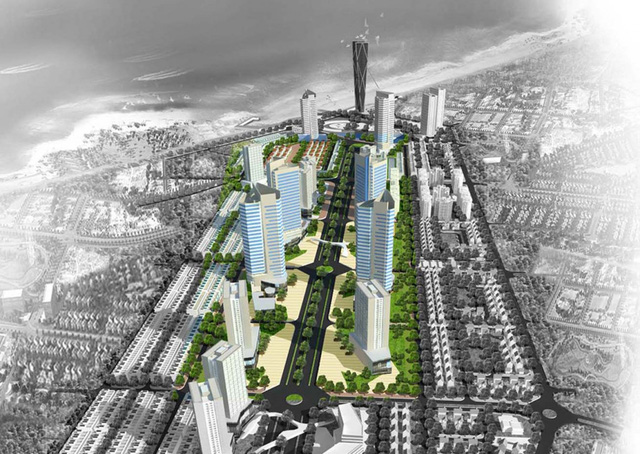 Khu hỗn hợp dự án khu thương mại – tài chính – du lịch – dịch vụ sân bay Nha Trang.