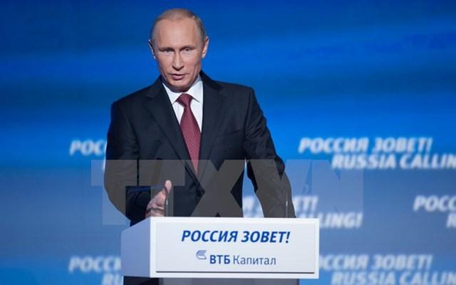 Tổng thống Vladimir Putin. (Nguồn: THX/TTXVN)