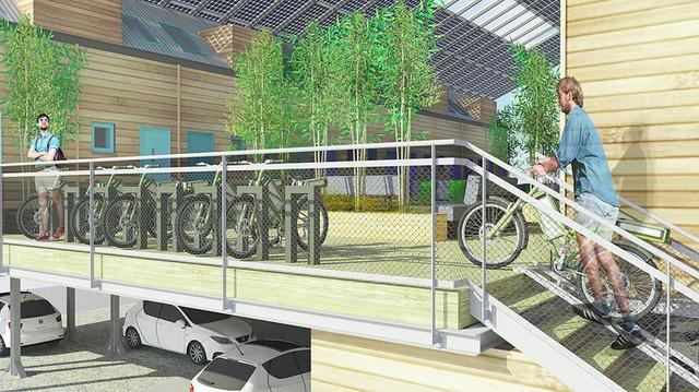 Toàn bộ mô hình ZEDpod được đúc sẵn nên việc xây dựng một cộng đồng dân cư rất dễ dàng mà chỉ mất khoảng 1 tuần.