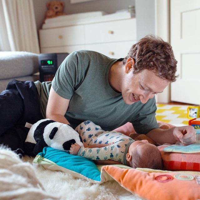 Khoảng thời gian được gặp con gái là lúc Mark Zuckerberg yêu thích nhất trong ngày.