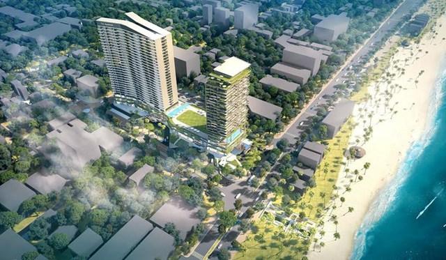 FLC SeaTower Quy Nhơn – một kiệt tác kiết trúc của Quy Nhơn.