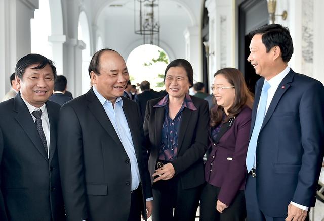 Thủ tướng: Mô hình phát triển của Quảng Ninh lựa chọn phải mở cửa, thu hút được nhân tài trong và ngoài nước phục vụ phát triển kinh tế-xã hội. Ảnh VGP/Quang Hiếu