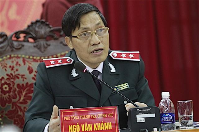 Phó tổng TTCP Ngô Văn Khánh