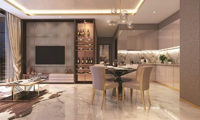 Thiết kế tinh tế và mỗi căn hộ đều có thể đón năng tự nhiên.
