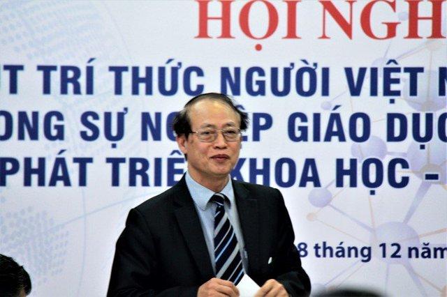 TS Phạm Văn Tân, Phó Chủ tịch Liên hiệp các hội KHKT Việt Nam. Ảnh: Lê Văn.