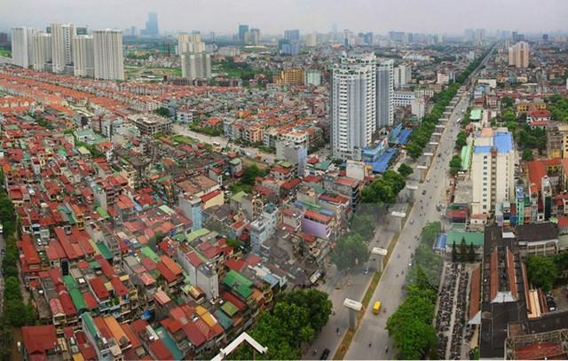 Quận Hà Đông, Hà Nội ngày nay. Ảnh: Trọng Đạt/TTXVN)