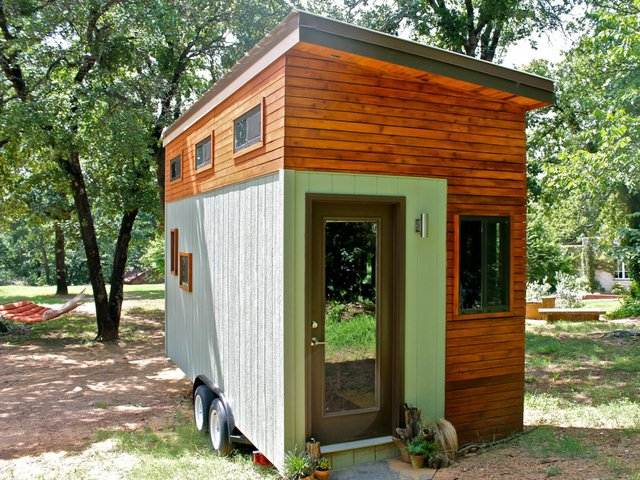Sau quãng thời gian dài mệt mài, một ngôi nhà nhỏ diện tích 13,4m2 có khả năng di động đã hoàn thành.