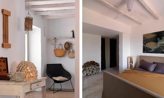 Không gian bên trong ngôi nhà được phủ một lớp vật liệu cách nhiệt tự nhiên. Nhờ việc này mà ngôi nhà luôn mát mẻ vào mùa hè và ấm áp vào mùa đông.