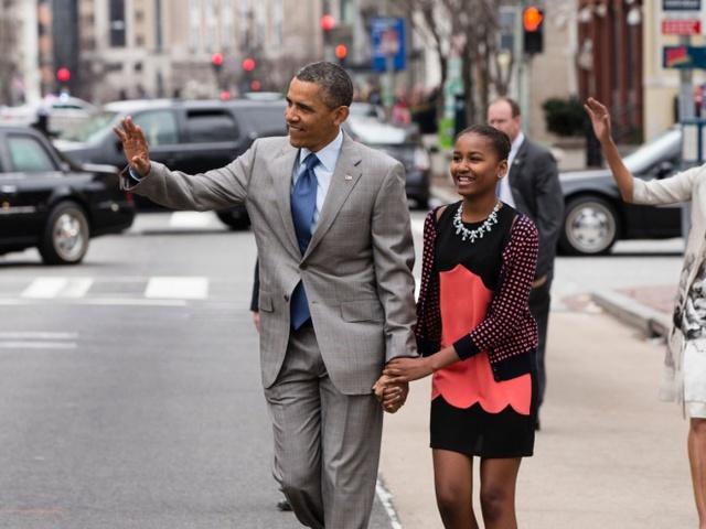 Sasha Obama đang học ngôi trường dành cho con cháu của các chính trị gia nổi tiếng.