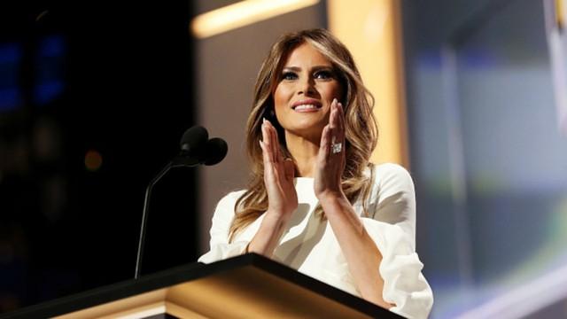 Bà Meania, vợ ứng viên tổng thống Donald Trump.