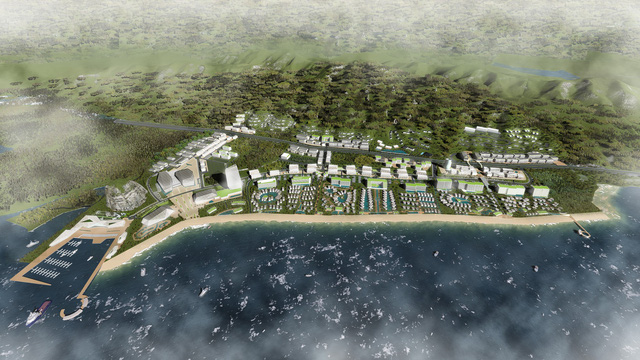 Phối cảnh dự án Sonasea Dragon Bay của CEO Group