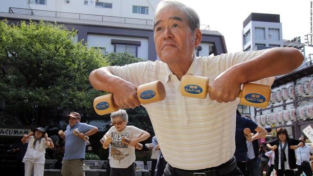 Người Nhật rất chú ý tăng cường hoạt động thể chất, nâng cao sức khỏe.
