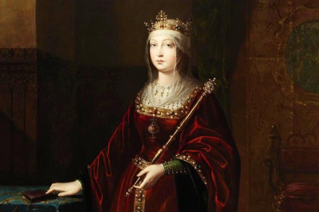 Nữ hoàng Isabella I của Castilla và León sinh năm 1451, mất năm 1504. Sau khi kết hôn với người anh em họ Ferdinand của Aragon, Isabella I trở thành người kiểm soát toàn bộ Tây Ban Nha. Vào thời điểm bà qua đời, tài sản của bà tương đương 1% GDP toàn cầu.