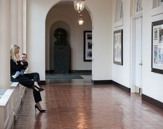 Con gái Tổng thống Mỹ cũng là một người phụ nữ của gia đình.