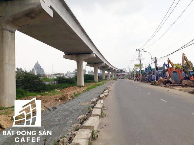 Tuyến metro gần như được nối dài từ nhà ga trọng điểm ở quận Thủ Đức đến cầu Sài Gòn, thuộc phía quận 2