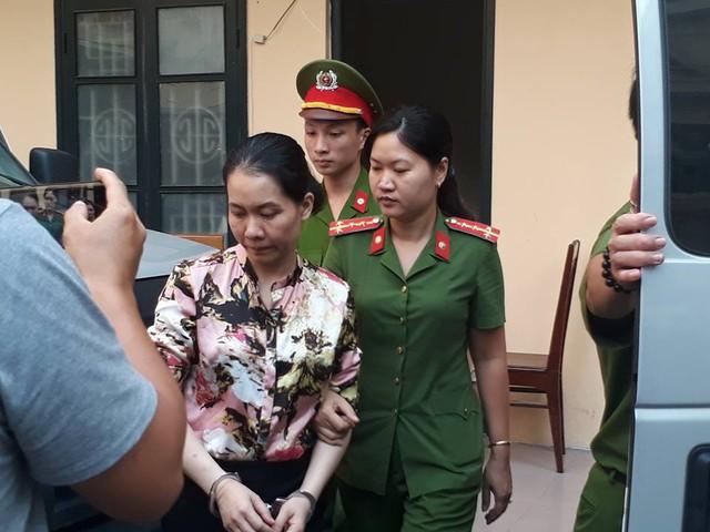 Bị cáo Nguyễn Minh Thu - nguyên TGĐ Oceanbank.