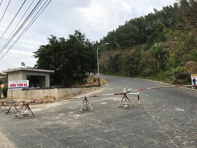 Ngay sau khi vụ việc bị phát hiện, mọi đường dẫn lên dự án đầu bị phong toả và gắn biển cấm vào