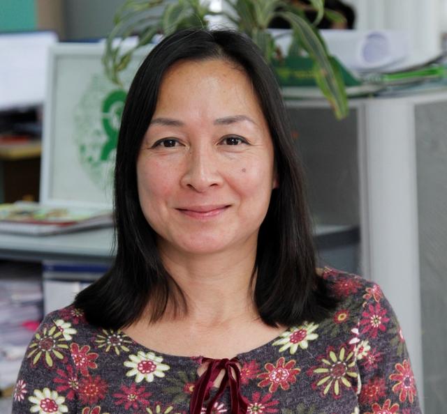 Bà Babeth Ngọc Hân Lefur, Giám đốc Quốc Gia, Tổ chức Oxfam tại Việt Nam