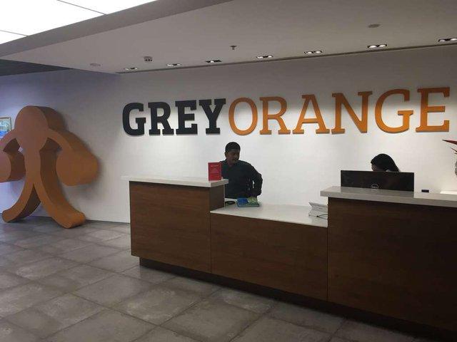 Văn phòng GreyOrange tại Gurugam (Nguồn Blomberg)