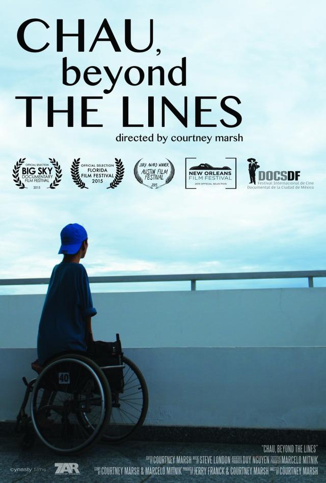 Poster bộ phim Chau, Beyond the Lines.