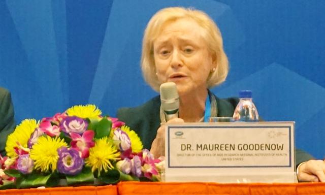 Bà Maureen Goodenow. Ảnh: Linh Anh