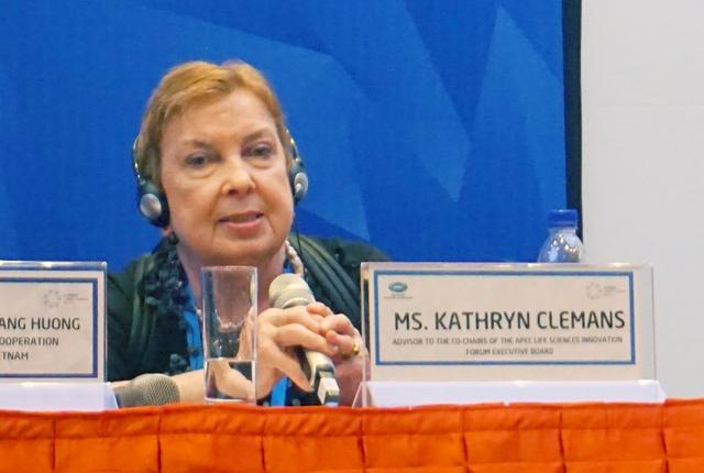 Bà Kathryn Clemans. Ảnh: Linh Anh