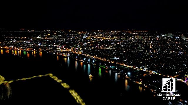 Toàn cảnh khu trung tâm Sài Gòn nhìn từ trên cao