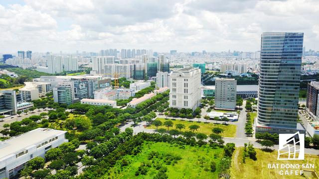 Khu vực này được ví như trái tim của trung tâm tài chính Phú Mỹ Hưng - nơi tọa lạc của cả trăm tòa nhà cao ốc thương mại