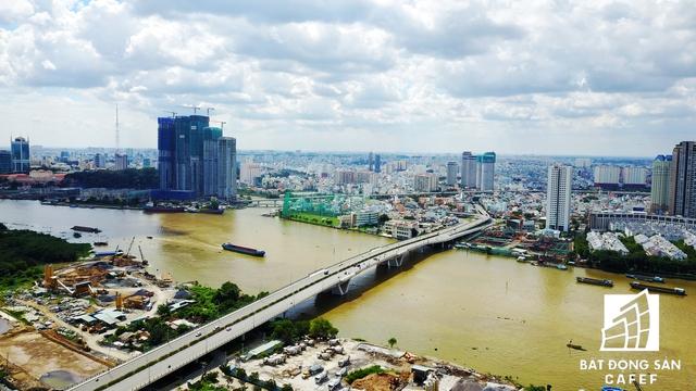 Cầu Thủ Thiêm 1 - dự án kết nối bán đảo Thủ Thiêm có trọng điểm đô thị đang phát triển thành quá tải