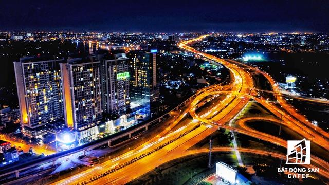 Nơi tập trung mật độ giao thông lớn nhất của TP.HCM: dự án tuyến metro số 1, các tuyến cầu vượt dẫn vào khu đô thị Cát Lái