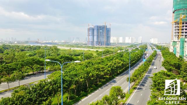 Đại lộ Mai Chí Thọ - con các con phố kết nối một số dòng vốn đầu tư mạnh mẽ vào Thủ Thiêm trong gần 20 năm qua