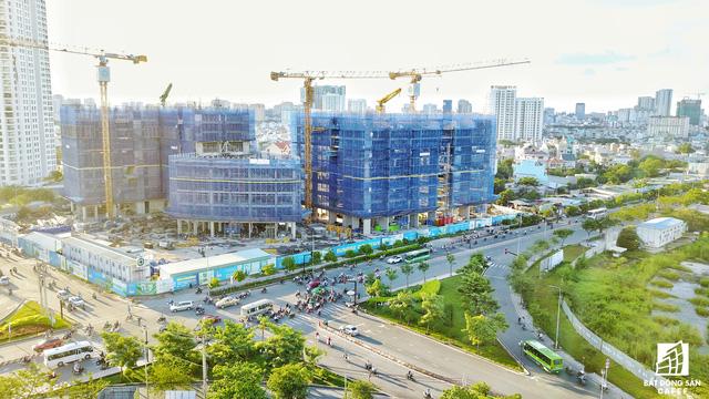 Tại khu vực này đang có 4 dự án đang xây dựng