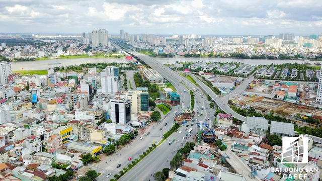 dji 0478 01 1504660440682 - Soi loạt dự án trên cung đường 3km đắt đỏ bậc nhất Sài Gòn