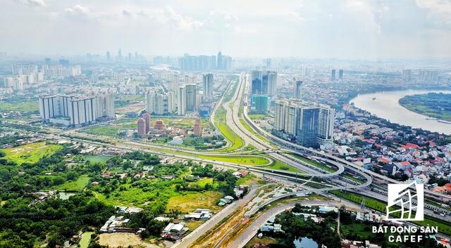 Nút giao Xa lộ Hà Nội - Mai Chí Thọ: kết nối thông suốt vào khu đô thị Cảng Cát Lái và Thủ Thiêm