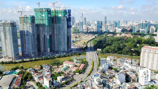 dji 0753 01 1504661122561 - Soi loạt dự án trên cung đường 3km đắt đỏ bậc nhất Sài Gòn