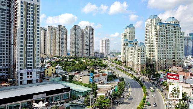 dji 0786 01 1504661453062 - Soi loạt dự án trên cung đường 3km đắt đỏ bậc nhất Sài Gòn
