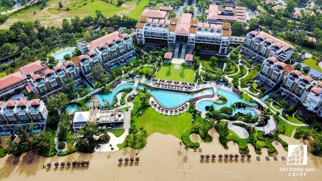 Cụm khách sạn thuộc giai đoạn 1 đã hoàn thành