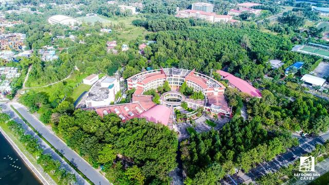 Dự án Khu công nghệ phần mềm thuộc Khu thành phố Đại học quốc gia TP.HCM - Trung tâm điều hành hệ thống thành phố thông minh trong tương lai.