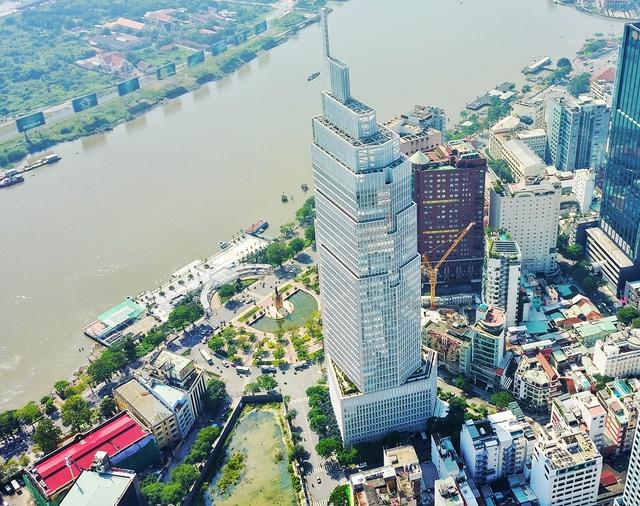 Dự án nằm ngay Bến Bạch Đằng, nơi được xem là trọng điểm tài chính sôi động nhất nước.