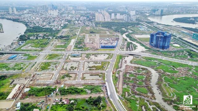 Quỹ đất để cân đối thanh toán cho phần chi phí xây lắp và thiết bị của dự án Xây dựng cầu Thủ Thiêm 4 bao gồm 11 lô đất