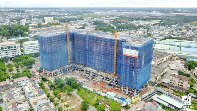 Dự án 9 Views của Hưng Thịnh nằm cạnh nhà ga metro Bình Thái (quận 9).