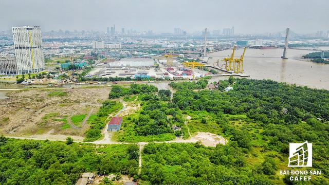 Khu vực cảng Rau quả Sài Gòn sẽ được lên kế hoạch di dời sau năm 2020