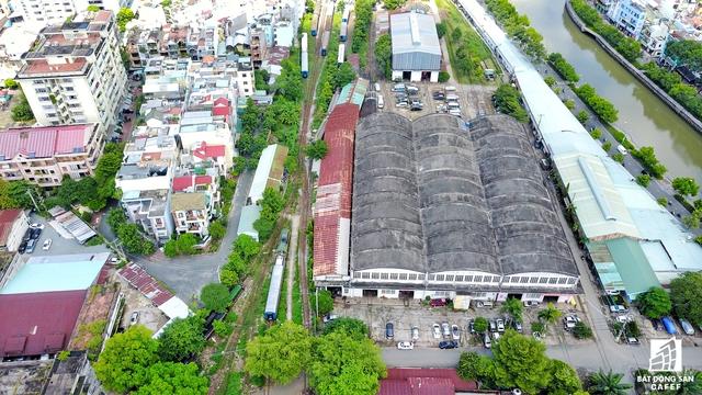 Khu đất này hiện nay là cơ sở hoạt động của Xí nghiệp Đầu máy Sài Gòn, nằm cách đường Cách Mạnh Tháng Tám khoảng 300m và nằm dọc kênh Nhiêu Lộc - Thị Nghè