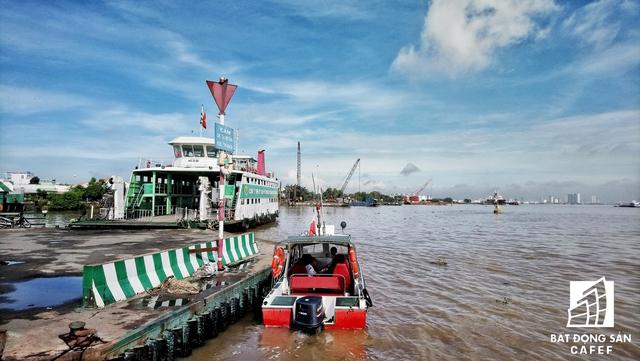 Vị trí sắp được xây dựng cầu Bình Khánh nối Cần Giờ với trung tâm TP.HCM.