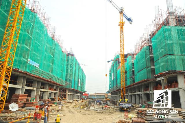 So với một số dự án lân cận như Saigon Gateway của Quốc Cường Gia Lai, Jamina của Khang Điền thì hiện nay dự án Him Lam Phú An đang có tốc độ thi công khá nhanh, đảm bảo tiến độ đề ra 3 tầng/tháng, dự án tháng 6/2017 sẽ cất nóc.