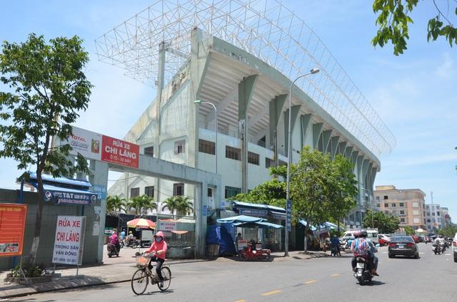 Đà Nẵng: Cận cảnh khu đất vàng sân vận động Chi Lăng đang gây xôn xao dư luận - Ảnh 1.